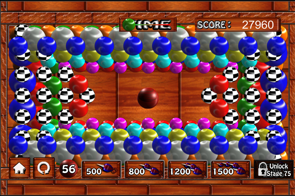 Screenshot Bubble Pop'n