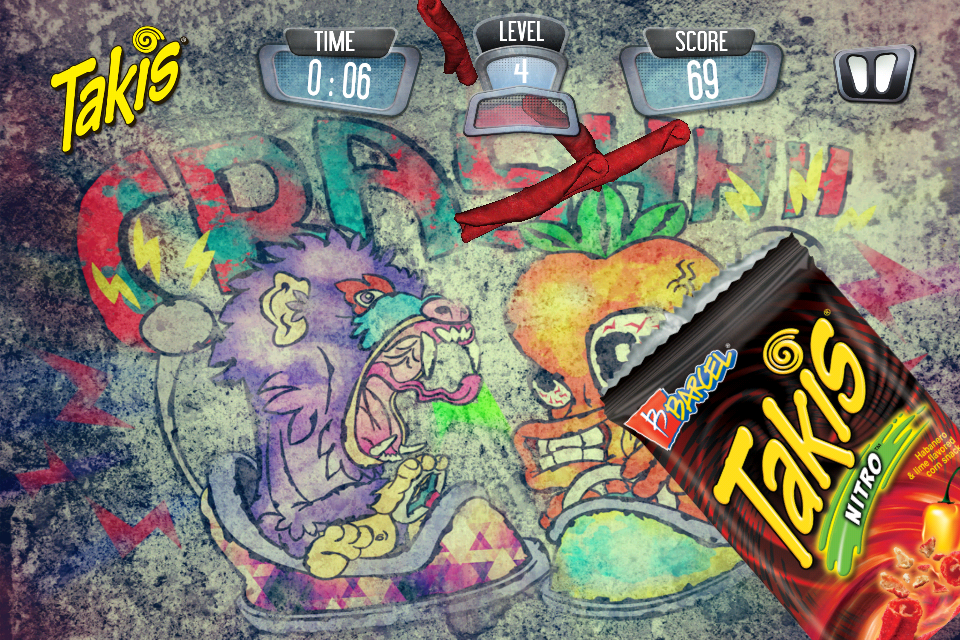 Screenshot Takis Air Challenge